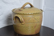 Load image into Gallery viewer, Bread Crock by Guernsey Pottery