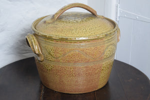 Bread Crock by Guernsey Pottery