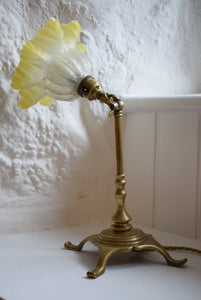 Antique Brass Pullman Railway Table Lamp