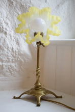 Load image into Gallery viewer, Antique Brass Pullman Railway Table Lamp