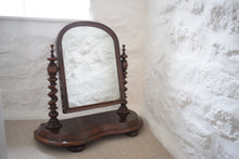 Load image into Gallery viewer, Mahogany Toilet Mirror