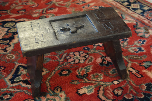 Primitive Antique Milking Stool