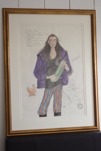 "Sue Macartney Snape Original ""The Organic Gardener"""