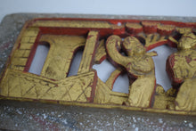 Load image into Gallery viewer, Chinese hand carved wooden panels