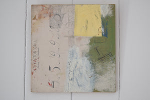 "Mixed Media on Board ""Water and Close Desire"" Signed V.Fricke"