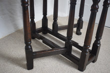 Load image into Gallery viewer, Antique Oak Gate Leg Table Small
