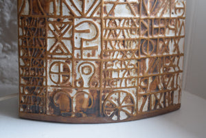 Tremaen Pottery Lamp Base