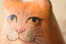 Load image into Gallery viewer, folk art paper mache cat