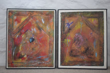 Load image into Gallery viewer, Jules Smith Untitled Pair Mixed Media on Canvas
