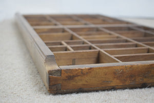 Wooden Printers Tray