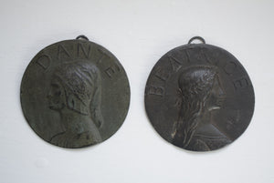 Dante and Beatrice Plaques
