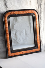 Load image into Gallery viewer, vintage faux tortoiseshell mirror