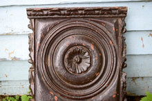 Load image into Gallery viewer, Antique carved wood panel