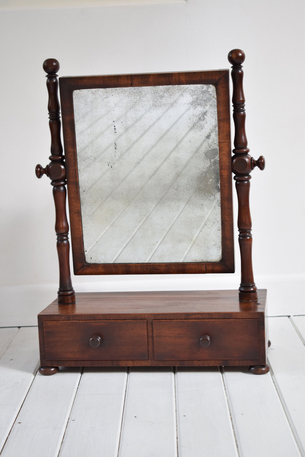 Antique Victorian Toilet Mirror