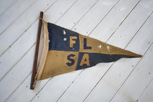 Antique Cornish flag