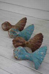 Antique cast iron bath feet