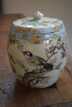 Load image into Gallery viewer, Antique Japanese biscuit barrel