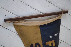 Antique pennant flag