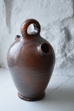 Load image into Gallery viewer, Vintage French Pottery Flagon