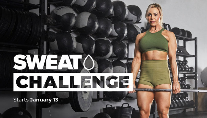 Get Stronger With BUILD In The 2020 SWEAT Challenge