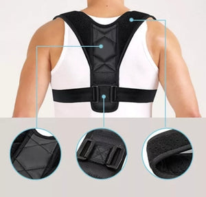 Back and shoulder pain relief / posture brace