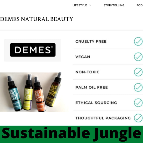 DEMES Get the Funk Out featured on Sustainable Jungle