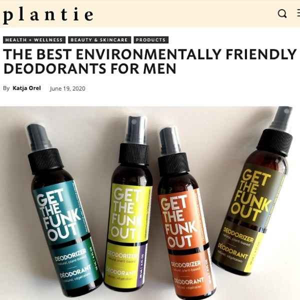 Plantie: The Best Environmentally Friendly Deodorants For Men