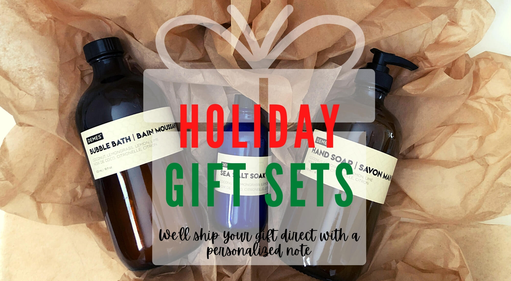 Holiday Gift Sets, gifts, gift ideas, natural vegan gift ideas
