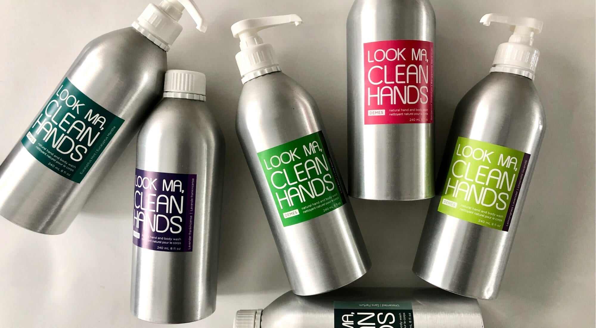 DEMES Look Ma Clean Hands natural hand and body wash
