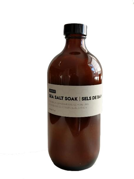 DEMES sea salt soak sels de bain