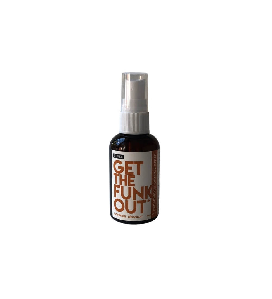 Get the Funk Out travel size deodorizer deodorant spray gtfo natural eco-friendly vegan