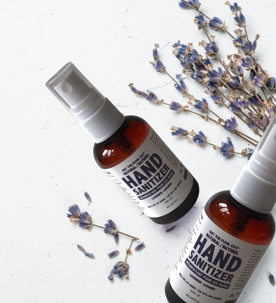 Get the Funk Out Natural Hand Sanitizer Travel Size