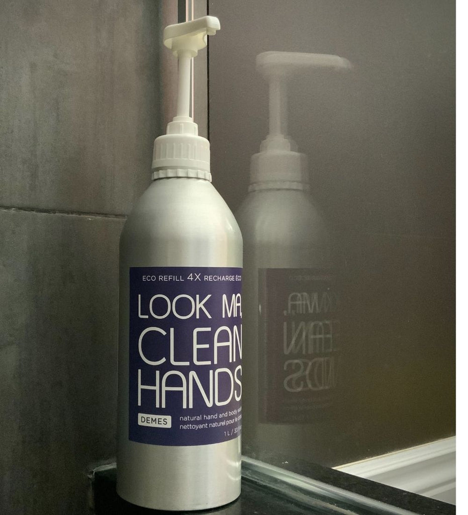 Look Ma, Clean Hands hand and body wash, natural vegan cruelty-free