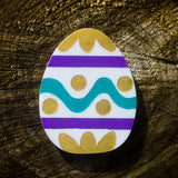 Paint Your Own Egg - Brooch