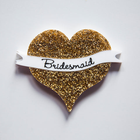 Bridesmaid Wedding Brooch
