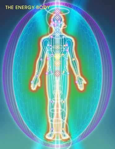 The Chakra System and Energy Body Food Example