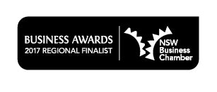 Caring Canary NSW Business Awards Finalist 2017