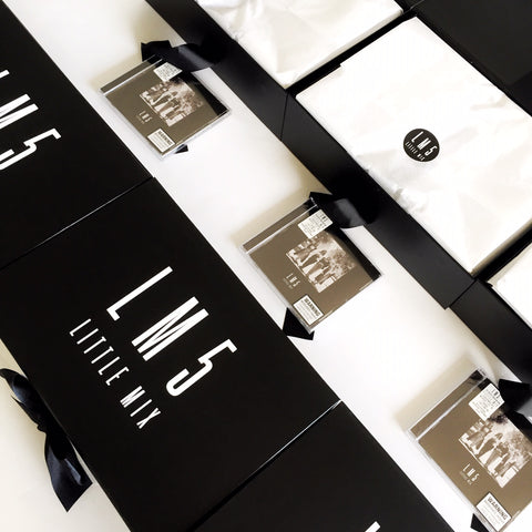GIGI AUSTRALIA Media kits for Sony Music Australia's album launch for Little Mix