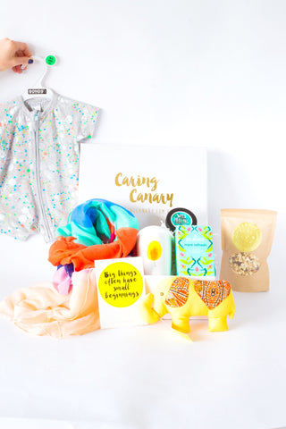 Bundle Of Joy care package - Caring Canary