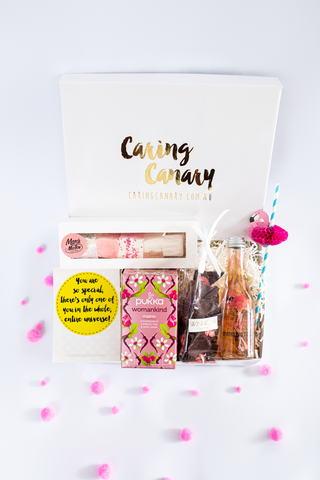 Sweetheart Care Package - Caring Canary