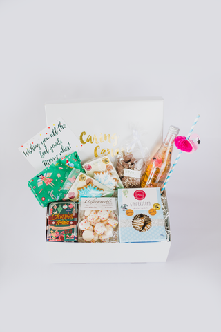 Festive Fun Christmas care package - Caring Canary