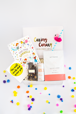Feel Good care package - Caring Canary