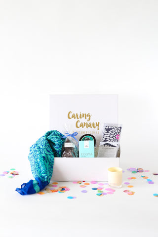 Pure Elegance care package - Caring Canary