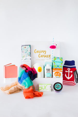 Road To Recovery care package - Caring Canary