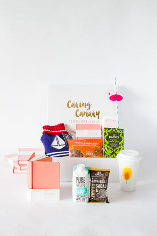 Ultimate Wellness Box care package - Caring Canary