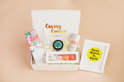 Quarantini care package - Caring Canary