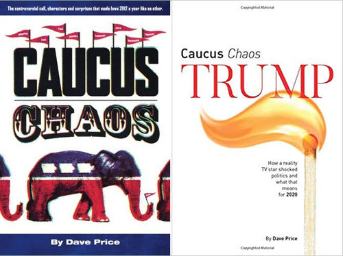 LIMITED EDITION: Signed Caucus Chaos and Caucus Chaos Trump Books