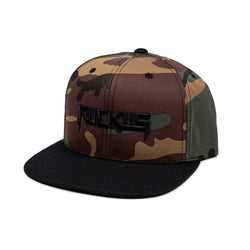 Sinister Snapback Hat - Camo