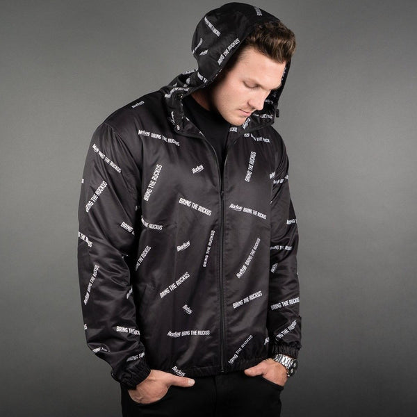 RUCKUS WINDBREAKER - BLACK
