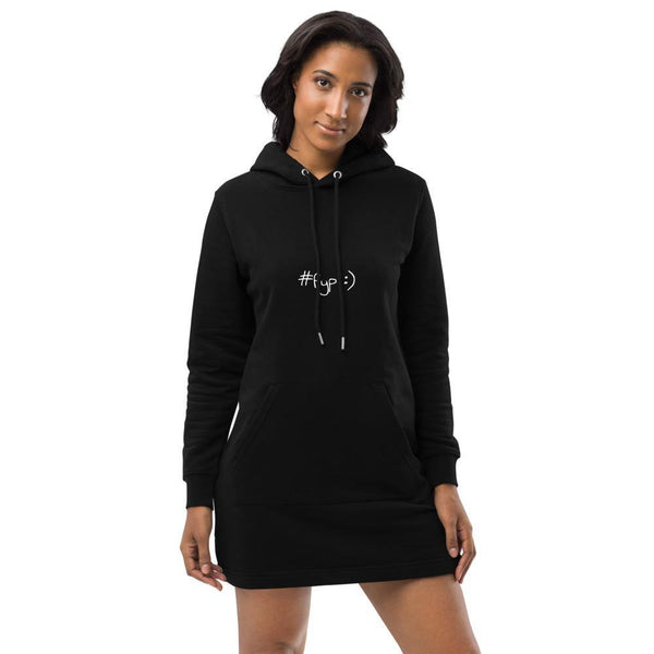Black Hoodie Dress #fyp
